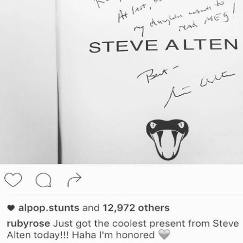 Movie Post By Ruby Rose