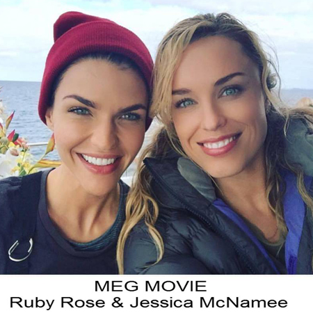 Ruby Rose And Jessica McNamee
